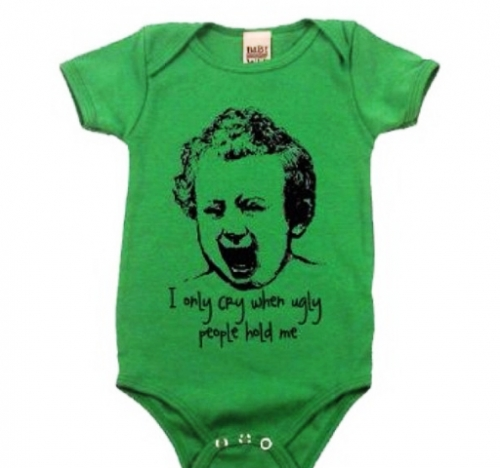 Green Baby Onesie Created By Doha Shop Posted By Doha_Shop