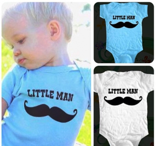 Little Man Onesie Created By Doha Shop Posted By Doha_Shop
