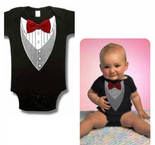 Tuxedo Onesie Created By Doha Shop Posted By Doha_Shop