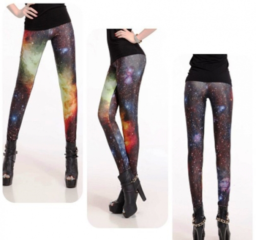 Galaxy Design Leggings Created By Doha Shop Posted By Doha_Shop