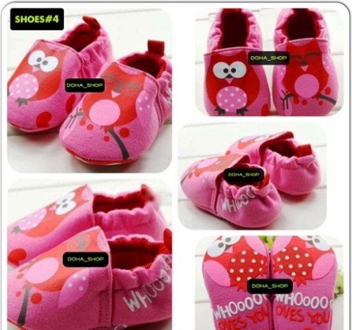 Owl Baby Shoes Created By Doha Shop Posted By Doha_Shop