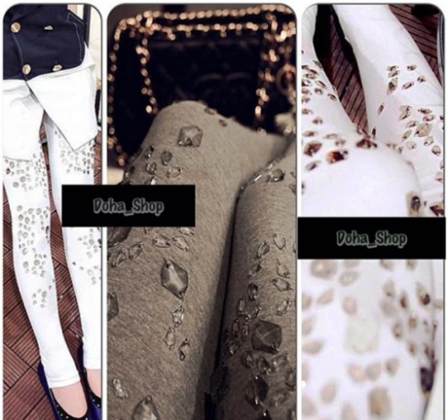 Textured Leggings Created By Doha Shop Posted By Doha_Shop
