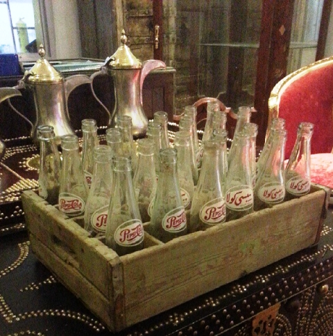 Old Pepsi Cola Bottles Created By  Posted By Arabsilo