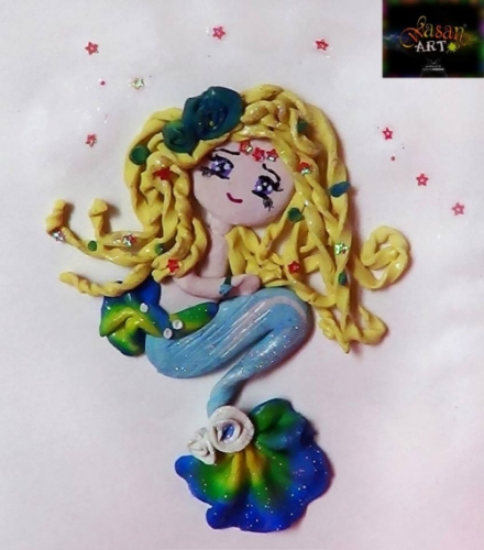 Mermaid Created By Wasan Posted By Wasan Art