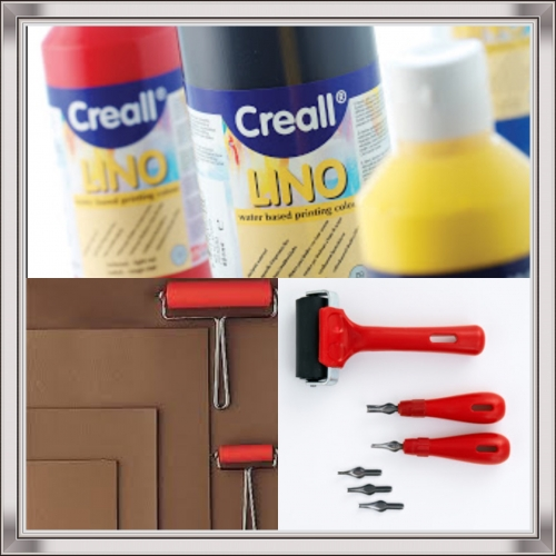Lino Paints Created By Art  Elements Posted By Art Elements