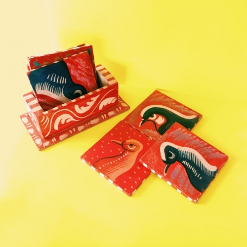 Handcrafted Coasters Created By  Posted By Z's Treasure