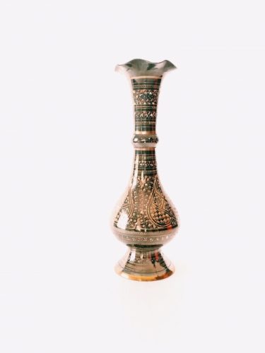 Brass Vase Created By  Posted By Z's Treasure