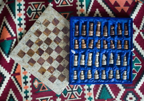 marble chess board Created By  Posted By Z's Treasure