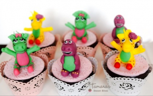 Barney & friends cupcakes Created By  Posted By Tamara Sweet Bites