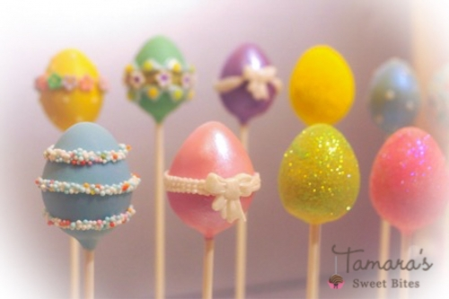 Easter cake pops Created By  Posted By Tamara Sweet Bites