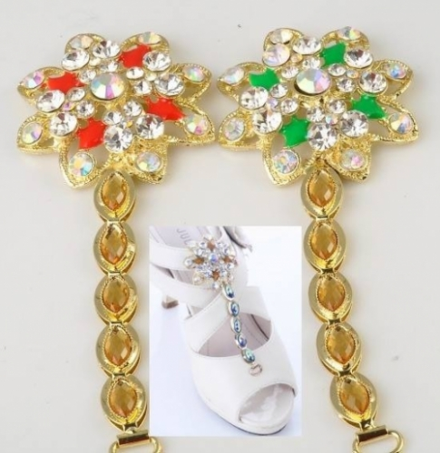 Stylish shoes jewellery Created By  Posted By DiwaniCollections