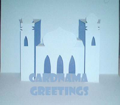 Eid Mubarak Created By  Posted By Cardnama Greeting Cards