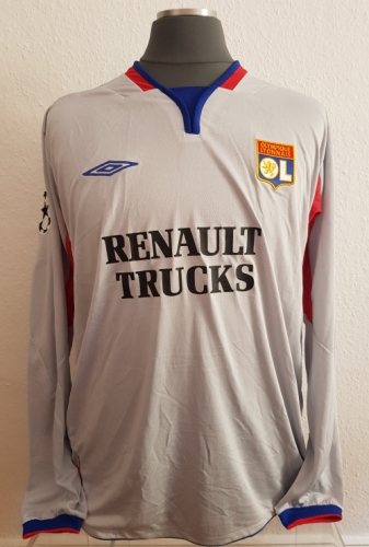 Olympique Lyon match shirt Created By  Posted By Daniel Haas