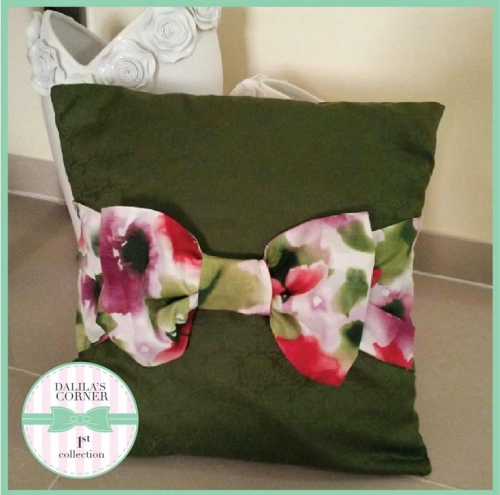 Bow Pillow Created By Dalila's Corner Posted By Dalila Corner
