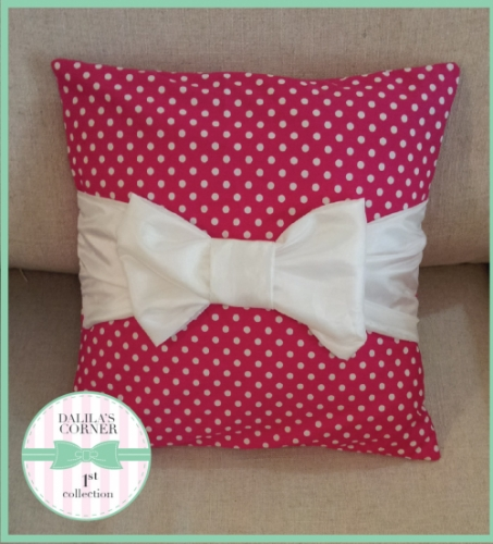 Bow Pillow Created By  Posted By Dalila Corner