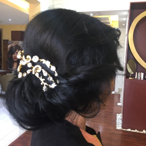 Hairstyles and hair accessories Created By  Posted By Chic And Posh Beauty Lounge