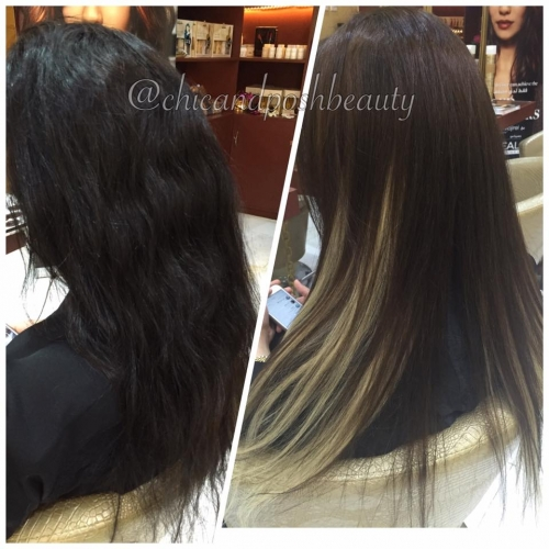 Human Hair extensions available Created By  Posted By Chic And Posh Beauty Lounge