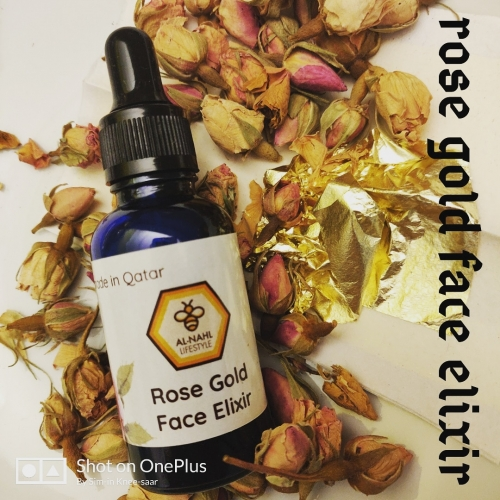 Rose Gold Elixir Created By alnahl lifestyle Posted By Alnahl lifestyle