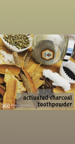 Activated Charcoal Toothpowder Created By  Posted By Alnahl lifestyle