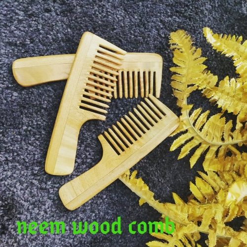 Neem Wood Comb Created By  Posted By Alnahl lifestyle