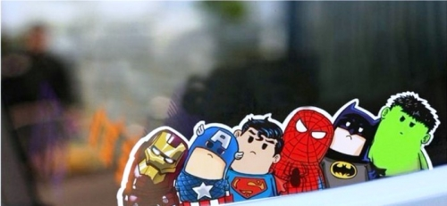 Crooked Avenger Created By  Posted By Big N Small Wall Decals