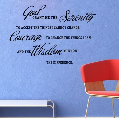 Serenity Prayer Created By  Posted By Big N Small Wall Decals