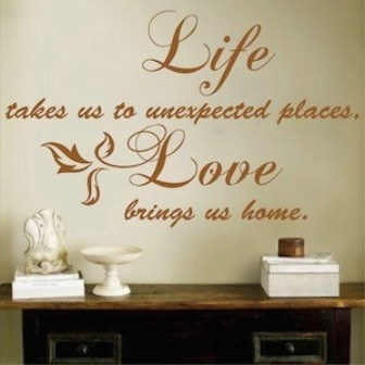 Life and Love Created By  Posted By Big N Small Wall Decals