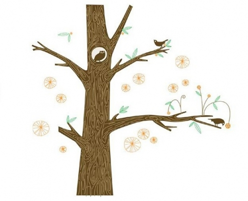 Tree Owl Created By  Posted By Big N Small Wall Decals