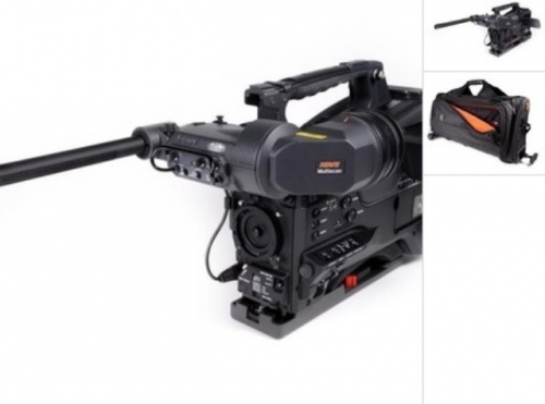 Sony PMW-500 XDCAM HD422 Camcorder recording HD material Created By Sony Posted By Gearhouse Broadcast