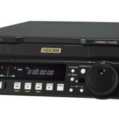 Sony J-H1 HDCAM Compact Player Created By Sony Posted By Gearhouse Broadcast