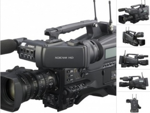 Sony PMW-400L Three 23-inch type Exmor CMOS sensors without lens XDCAM camcorder recording Full HD 422 at 50 Mbps Created By Sony Posted By Gearhouse Broadcast