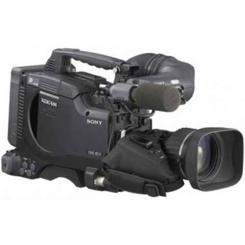 Sony PDW-F335L Three 12-inch type HD Power HAD CCD sensors without lens XDCAM HD camcorder recording HD SD Created By Sony Posted By Gearhouse Broadcast