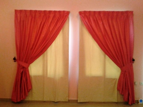 Curtains Fitting Created By Md Raqib Posted By Blue color company