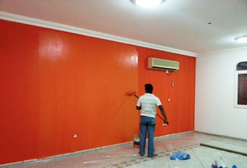 Interior Painting Created By Md Raqib Posted By Blue color company