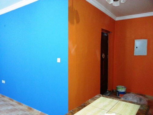 Roller Painting Created By Md Raqib Posted By Blue color company