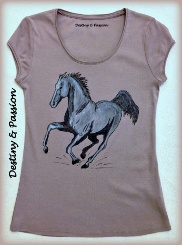 Fabric Painting - Horse Created By Destiny & Passion Posted By Destiny And Passion