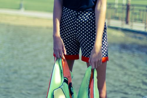 Kage Polka Dot Shorts Created By Al Seal Residence, West Bay Posted By Dados Beauty